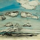 Mersea Island cloud study 2 by Doug Selway