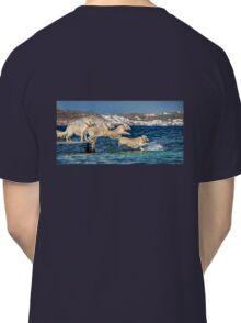 Winny jumping into the sea Classic T-Shirt