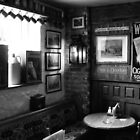 OLD ENGLISH PUB IN MONOCHROME 2. by ronsaunders47
