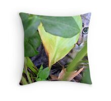 Louie the Hunter Throw Pillow