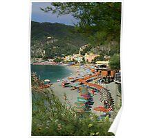 Monterosso Beach Poster