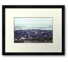 Foggy Day in St. Pierre Framed Print
