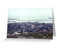Foggy Day in St. Pierre Greeting Card