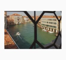 Grand Canal View From My Venetian Palace Window One Piece - Short Sleeve