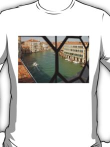 Grand Canal View From My Venetian Palace Window T-Shirt