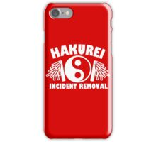 Hakurei Incident Removal iPhone Case/Skin