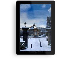 Harrogate pump rooms Metal Print