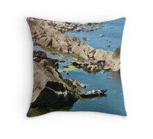 At Smerwick Harbour Throw Pillow