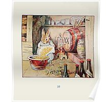 Cecily Parsley's Nursery Rhymes Beatrix Potter 1922 0012 Cecily Parsely Brewed Good Ale Poster
