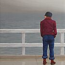 Dead Calm, Oil on Linen, 22.5x20cm. by Jason Moad