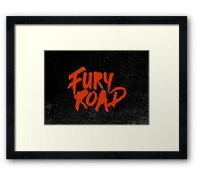 Mad max: Fury Road  Framed Print