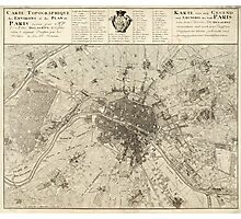 Paris 1737 Photographic Print