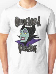 Maleficent Chillin Like a Villain Unisex T-Shirt