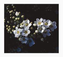 White flowers Baby Tee
