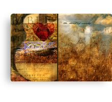 The Heart of Worship Canvas Print