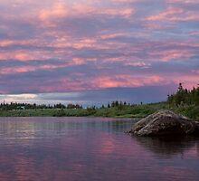 Summer Sunset at Brainard Lake, Colorado by Gary Siemer