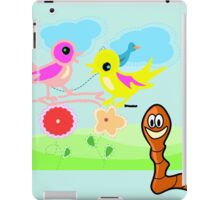 Spring Garden for Kids duvet, etc. design iPad Case/Skin