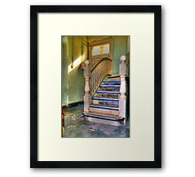 Upstairs - Downstairs Framed Print