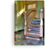 Upstairs - Downstairs Canvas Print
