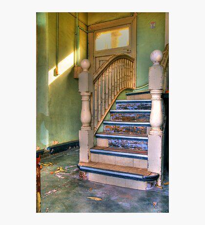 Upstairs - Downstairs Photographic Print