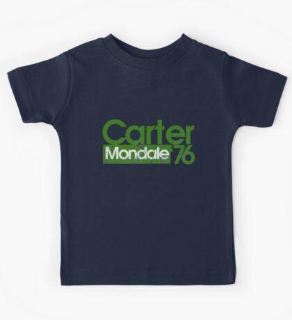 Jimmy Carter Mondale 1976 Kids Tee