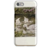 Jemima Puddle Duck Beatrix Potter 1917 0007 Search for Food Splish Splash Sploosh in the Pond iPhone Case/Skin