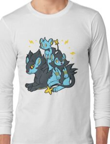 Pile of Electric Lions Long Sleeve T-Shirt