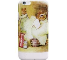 The Tale of Timmy Tiptoes Beatrix Potter 1911 0059 Chippy Hackee With a  Cold iPhone Case/Skin