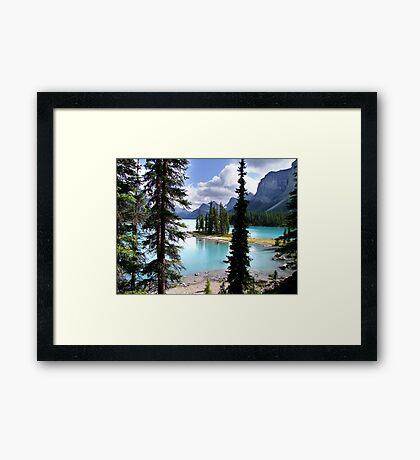 Incomparable Maligne Framed Print