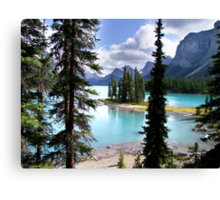 Incomparable Maligne Canvas Print