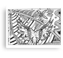 Moth Ball! Canvas Print