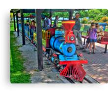 Park Train Metal Print