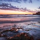 """Sunset At South Mole Beach"" by Heather Thorning"