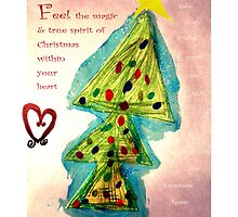 The Spirit of Christmas 2010 Card by Janette  Dengo