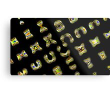 Ancient language Metal Print