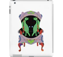 Decorated armchair iPad Case/Skin