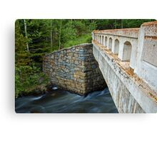 Bridge over James Creek Canvas Print