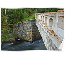 Bridge over James Creek Poster