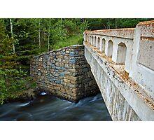 Bridge over James Creek Photographic Print