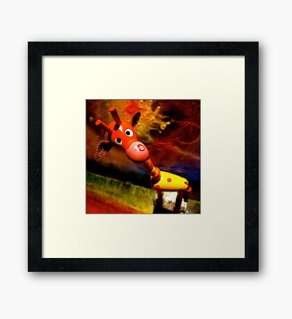 G. Raffe - Loves Art! Framed Print