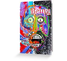 Being Small Greeting Card