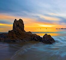 Sunset Cove by Doug Dailey
