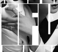 VIXX LR Leo 'Beautiful Liar' Typography Sticker