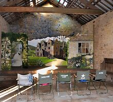 Play Theatre in the barn at Tyneham...Dorset UK by lynn carter