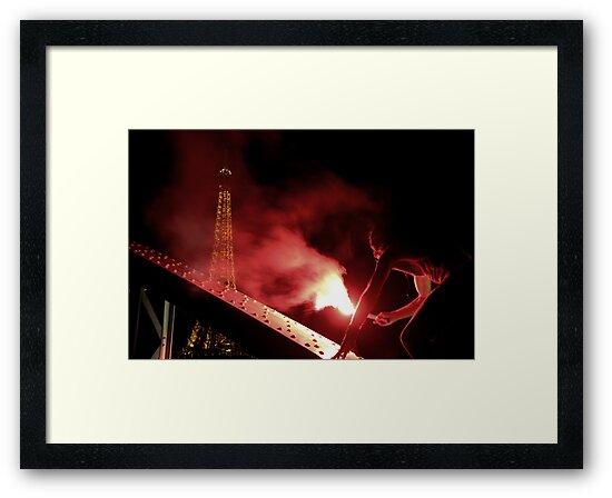 Paris - Hors Humain by Jean-Luc Rollier
