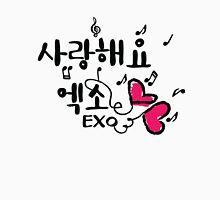 sarang haeyo EXO Women's Fitted Scoop T-Shirt