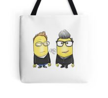 Simon Minion and Minion Kermode Tote Bag