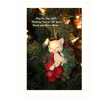 Joy of This Holiday Season Art Print