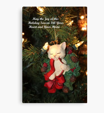 Joy of This Holiday Season Canvas Print