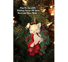 Joy of This Holiday Season Photographic Print